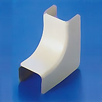 HellermannTyton TSR2-33-1 External Cover for TSR2 Surface Raceway